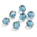 Montana 6mm Swarovski Faceted Round, Pkg. of 12